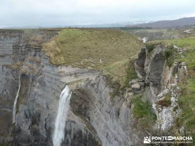 Salto del Nervión - Salinas de Añana - Parque Natural de Valderejo;excursiones alrededores de madr